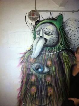 Grafitti at Lolitabar