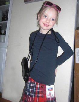 Naja in an SMA costume