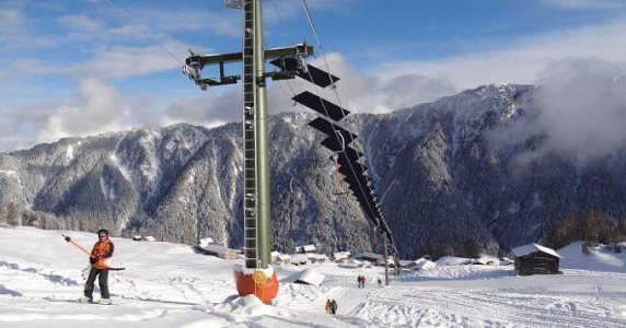 """Solar Ski Lift"" Association Tenna"