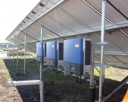 The PV Diesel Hybrid System includes 63 Sunny Tripower inverter of SMA
