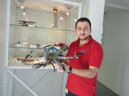 The Hexacopter was a trainee´s project