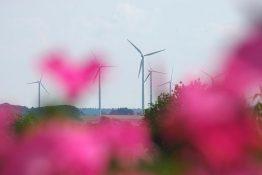 Wind power plants, source: IdE Kassel