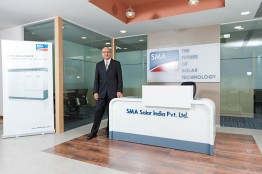 Headquarter in Mumbai with Rakesh Khann, General Manager SMA India