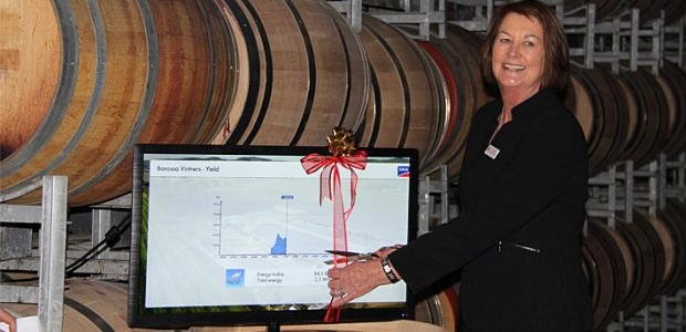 The Senator for South Australia, Anne McEwan officially opened the event with the cutting of the ribbon on the SMA Flashview screen.