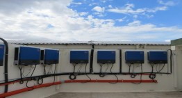 Photovoltaic Diesel Hybrid Project with Sunny Tripower inverters in Palladam, India