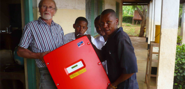 PV Schools students project in Tanzania