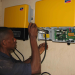 Installation of the Sunny Island battery inverter