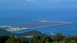 Japan's largest PV power plant near Kagoshima