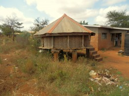 The village is self-sufficient in food, education and health care.