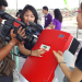 Product explanation of the SMA inverter, the heart of this solar farm for the Press.
