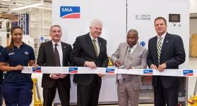 SMA solar factory cape town