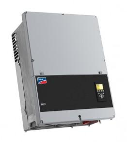 The MLX 60 is suitable for commercial solar systems. It is one of the new inverters which completes the SMA product portfolio