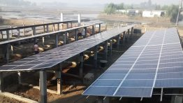 The solar system can provide five hundred households with six hours of electricity per day.