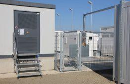 Protected medium voltage testing area