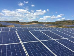 The largest decentralized PV park produces about 63.3 Megawatt electricity.