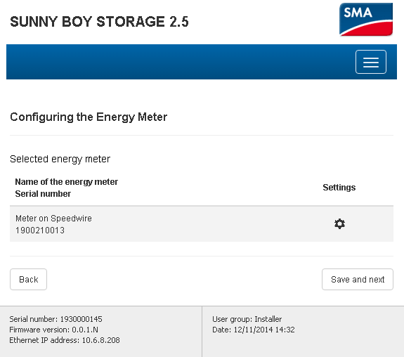 3Service Tip Setting up Sunny Boy Storage to control export of SMA PV inverters