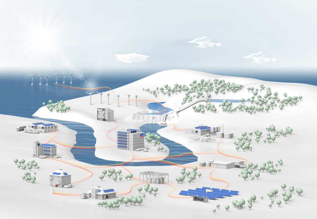 SMA has the right solutions for a sustainable and reliable energy supply.