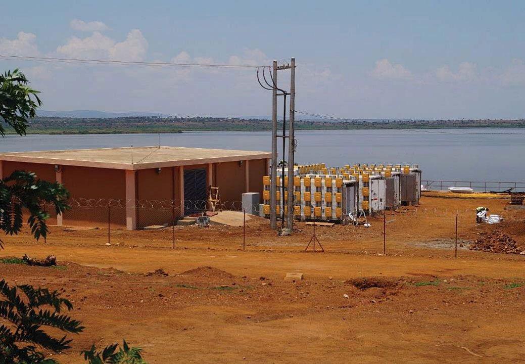 Sunny Island inverters in an off-grid plant for rural areas in Ruanda. Source: Tesvolt
