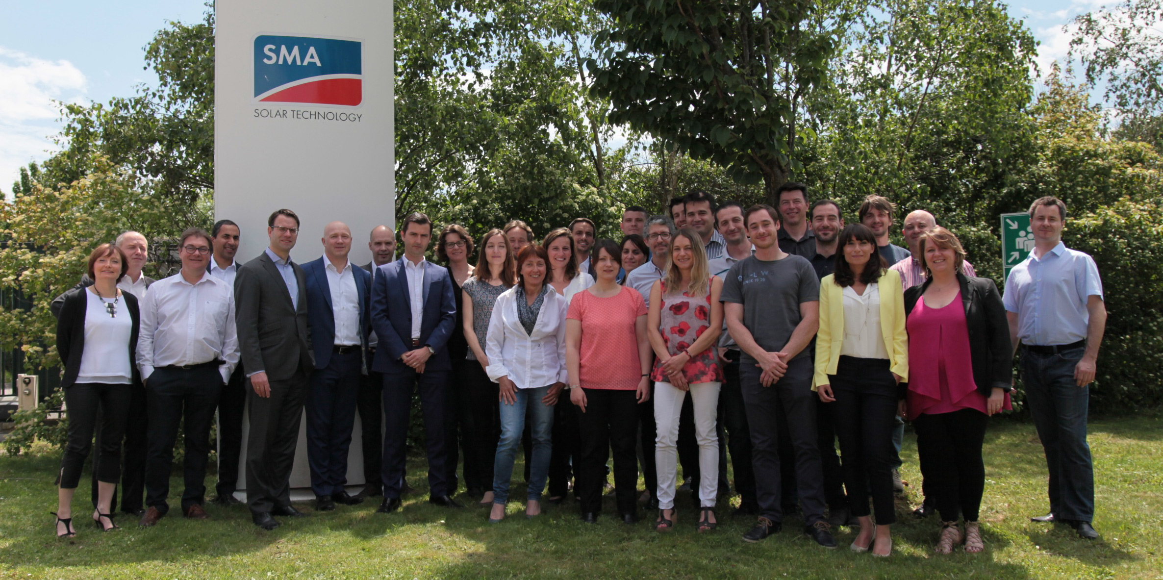 The SMA France team say thank you!