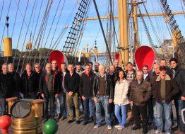 Abteilung Logistik auf dem Schulschiff Deutschland in Bremen