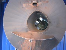 dust blowing tubine