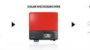 Ein Solar-Wechselrichter wandelt Gleich- in Wechselstrom um