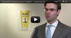 Gesamte Solarbranche in Gefahr