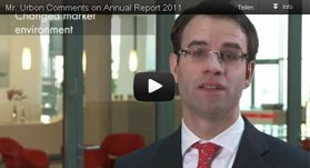 Mr. Urbon comments on Annual Report 2011