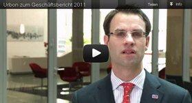 Urbon zum Geschätsbericht 2011
