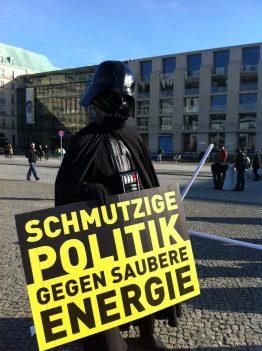 Er ist auf unserer Seite, Solardemo in Berlin am 5.03.2012