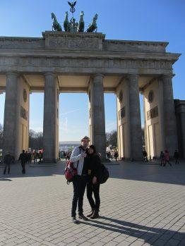 Jessica und ich in Berlin
