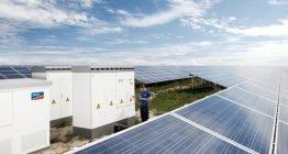 """""""Solarkraftwerk"""" PPS Sunny Central Service"""