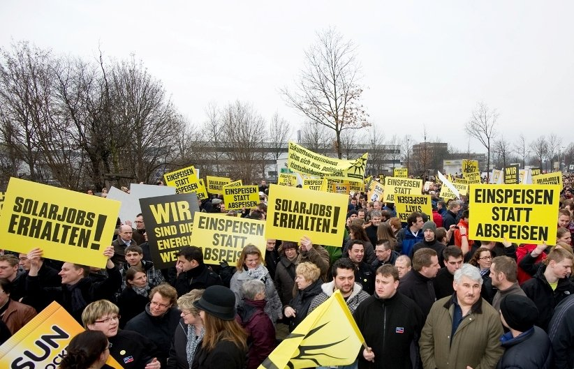 SMA Protestaktion am 23.02.2012