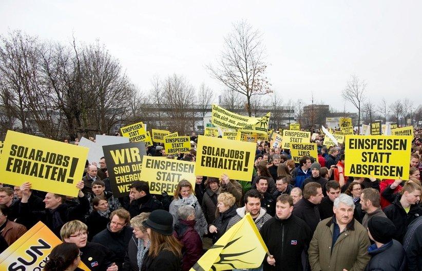 SMA Protestaktion am 23.02.2012