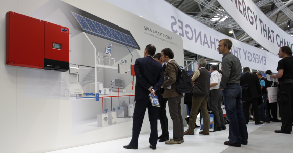 SmartHome / Energiemanagement Intersolar 2012