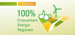 "4. Kongress ""100% Erneuerbare-Energie-Regionen"" am 25.-26. September in Kassel"
