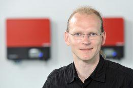 Martin arbeitet als Patentmanager in Teilzeit.