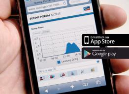 Sunny Portal App - Zugriff immer und von überall