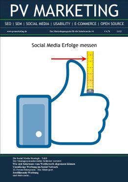 Titelbild der 6.Ausgabe des PV-Marketing-Magazins