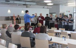 Alle waren begeistert vom SMA Chor