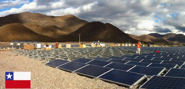 SMA solar reference project in Chile