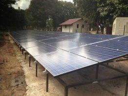 Fertiger Solargenerator
