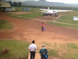 Flug nach Yei, Südsudan