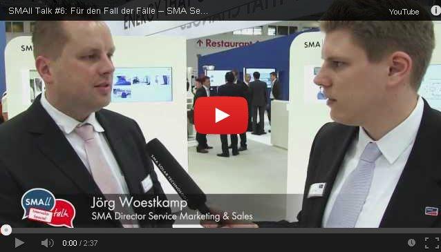 SMAll Talk Service auf der Intersolar 2013