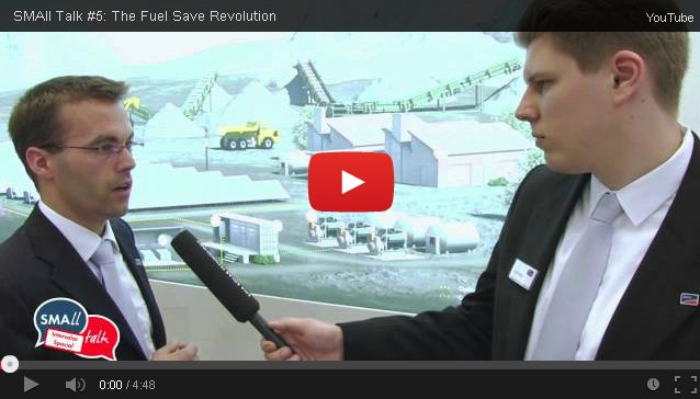 SMAll Talk: SMA Fuel Save Solution