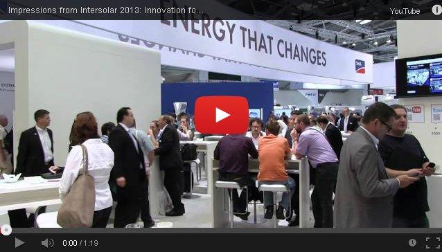 Video Intersolar 2013