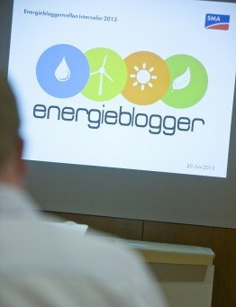 Energieblogger im Austausch