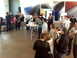 Die Sessionplanung beim Barcamp Renewables 2012: Themen von Crowdfunding über Social Media hin zum EEG wurden diskutiert