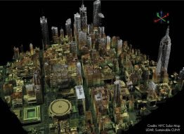 Quelle: NYC Solar Map LiDAR, Sustainable CUNY
