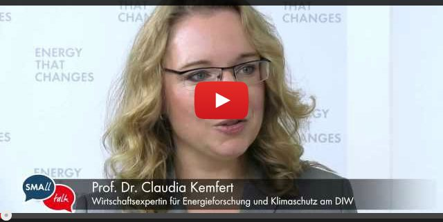 SMAll Talk-Interview mit Prof. Dr. Kemfert
